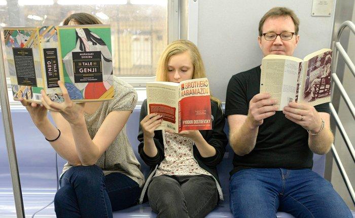 Três leitores novagão